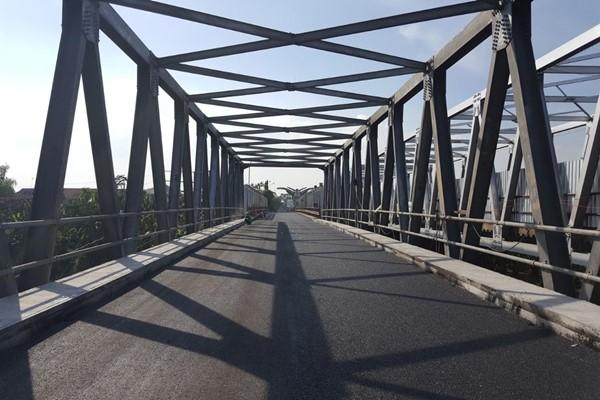 Jembatan Cicncin Lama. - Kementerian PUPR