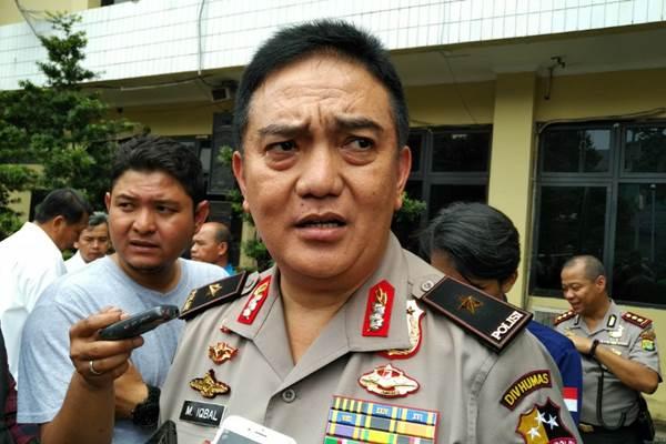 Kepala Biro Penerangan Masyarakat Mabes Polri Brigjen Pol Muhammad Iqbal - Bisnis.com/Sholahuddin Al Ayyubi