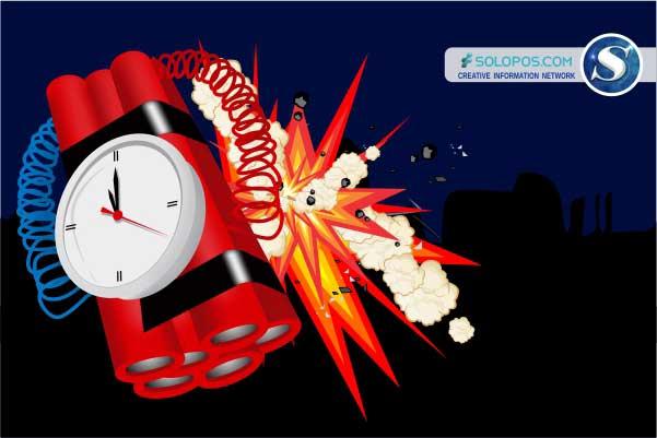 Ilustrasi ledakan bom. (Solopos/Whisnupaksa Kridhangkara)