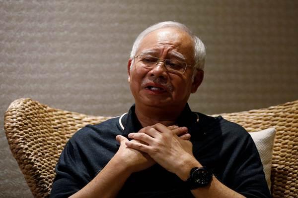 Mantan PM Malaysia Najib Razak. - Reuters