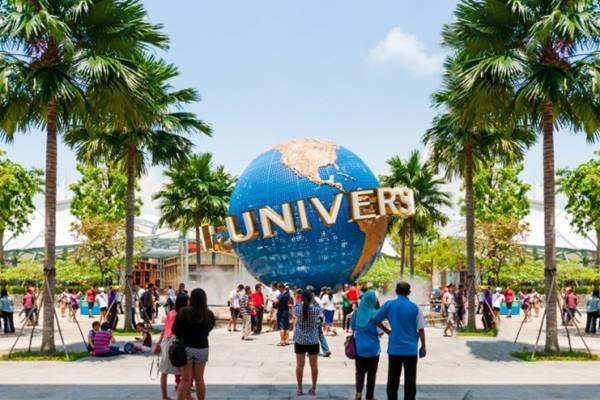 Universal Studio di Sentosa Island, Singapura
