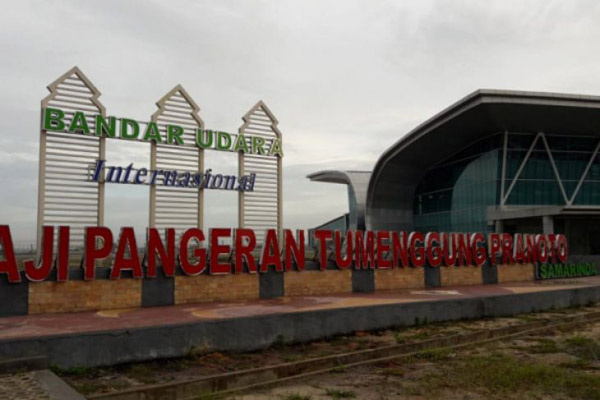 Bandara Aji Pangeran Tumenggung (APT) Pranoto atau Bandara Samarinda Baru - Istimewa/Humas Kemenhub