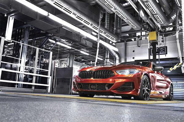 BMW Seri 8 Coupe.  - BMW