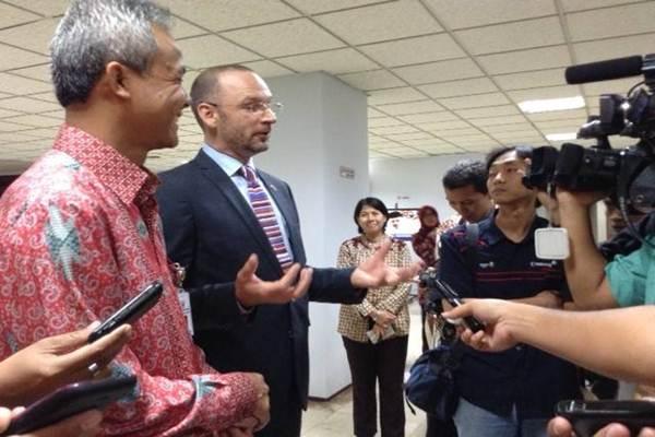 Martin Bille Hermann saat masih menjadi Duta Besar Denamrk di Indonesia - Istimewa