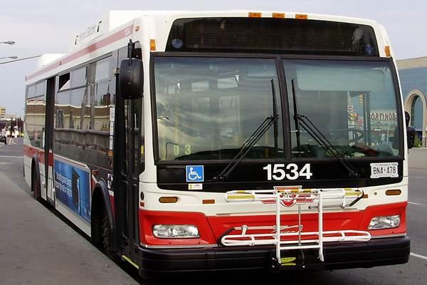 Bus milik Toronto Transit Commission - Istimewa