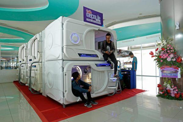 Ini Tarif Hotel Kapsul Di Terminal Iii Bandara Soekarno Hatta Traveling Bisnis Com
