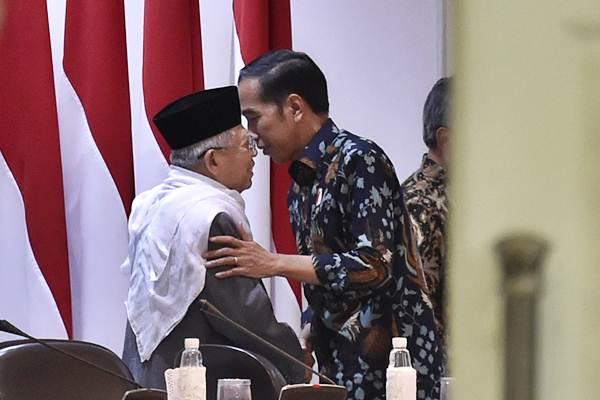 Jokowi: Ma'ruf Amin Tokoh Agama yang Bijaksana - Kabar24 ...