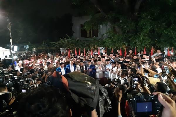 Suasana deklarasi Prabowo-Sandiaga - Jaffry Prabu