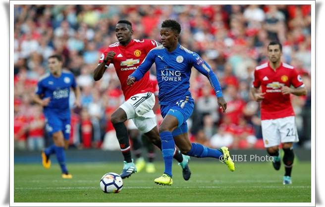 LIGA INGGRIS: Manchester United vs Leicester City ...