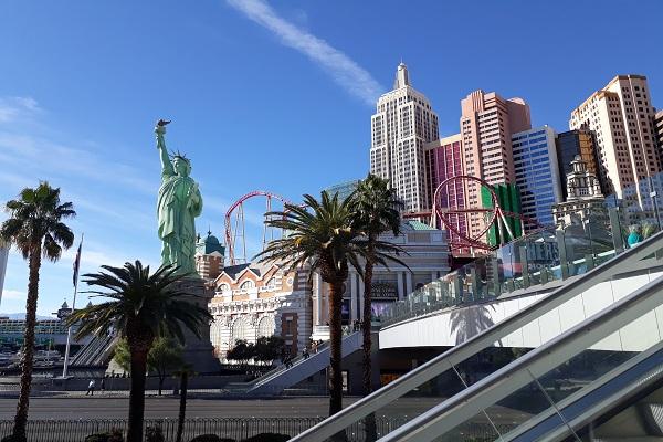 Satu sudut Kota Las Vegas, Amerika Serikat - Jibi/Dara Aziliya