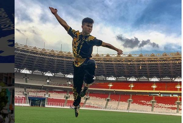 Atlet wushu Indonesia, Edgar Marvelo - Instagram