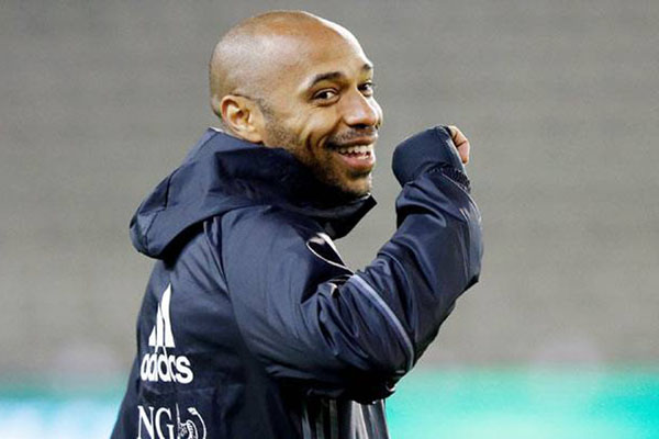 Thierry Henry - Reuters