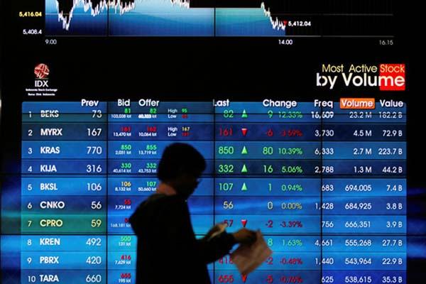Bursa Efek Indonesia - Reuters/Iqro Rinaldi
