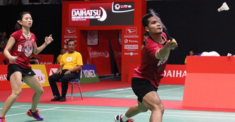 Ganda campuran Ricky Karanda-Debby Susanto - Badminton Indonesia
