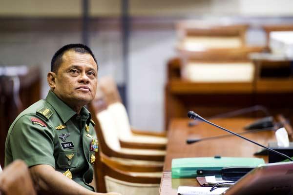 Mantan Panglima TNI Jenderal TNI Gatot Nurmantyo - Antara