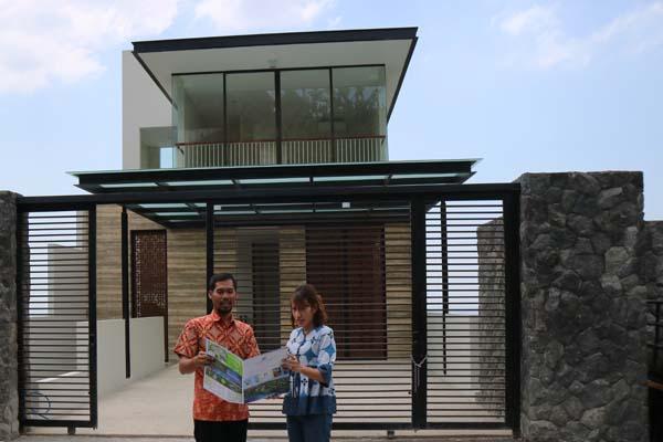 Angelite salah satu rumah di Citrasun Garden Semarang