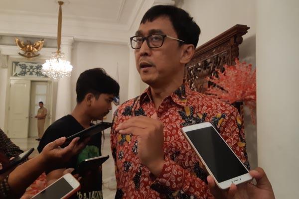 Direktur Pengembangan Bisnis PT Jakarta Propertindo (Jakpro) Hendra Lesmana. - Bisnis.com/Regi Yanuar Dinnata