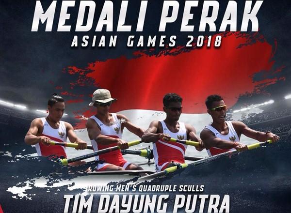 Tim regu Men's Quadruple Sculls Indonesia - Twitter