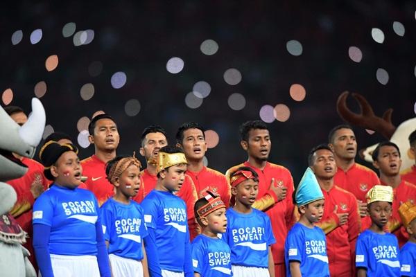 Pemain Timnas Indonesia U-23 - Bisnis.com/Dwi Prasetya