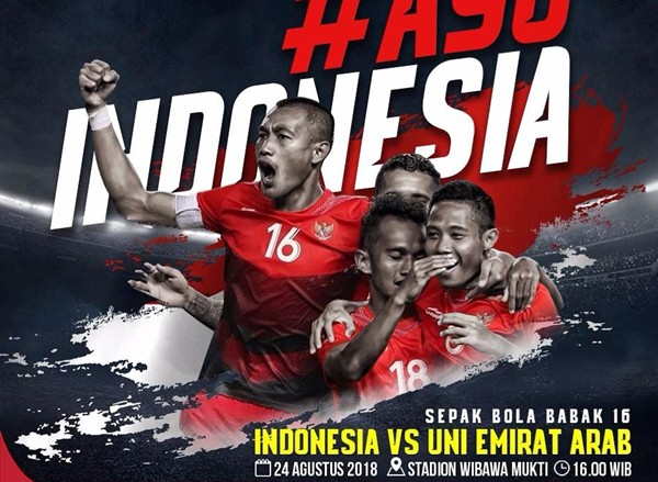 Indonesia vs UEA - Twitter