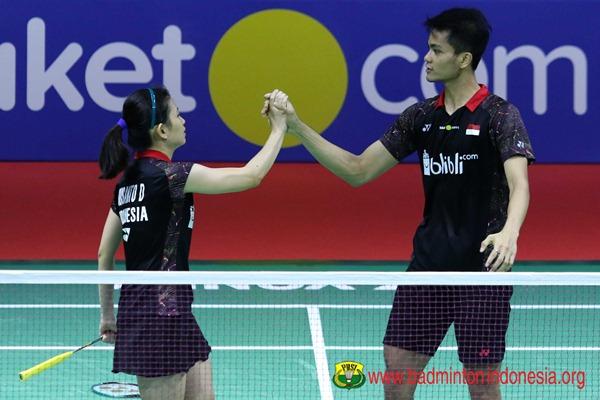 Ricky Karanda Suwardi-Debby Susanto - Badminton Indonesia