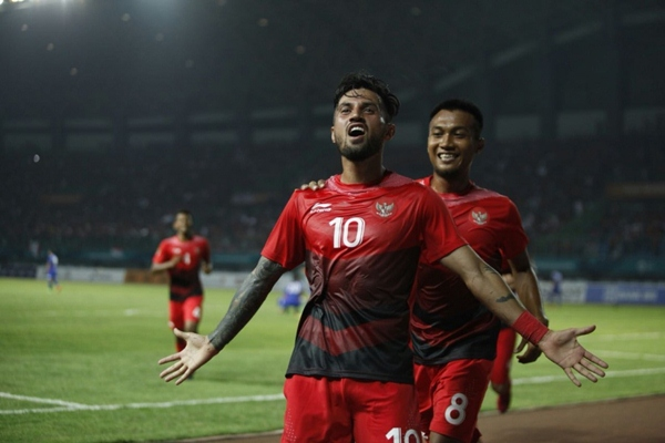 Pemain Timnas Indonesia Stefano Lilipaly - PSSI
