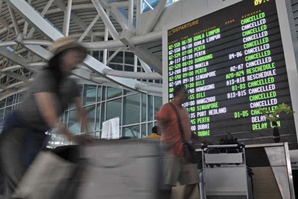 Terminal internasional Bandara Ngurah Rai di Bali. - Antara