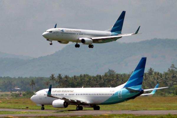 Pesawat Garuda Indonesia. - JIBI/Paulus Tandi Bone