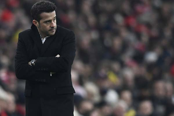 Pelatih Everton Marco Silva - Reuters/Dylan Martinez