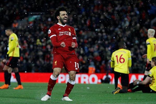 Striker Liverpool Mohamed Salah - Reuters/Phil Noble