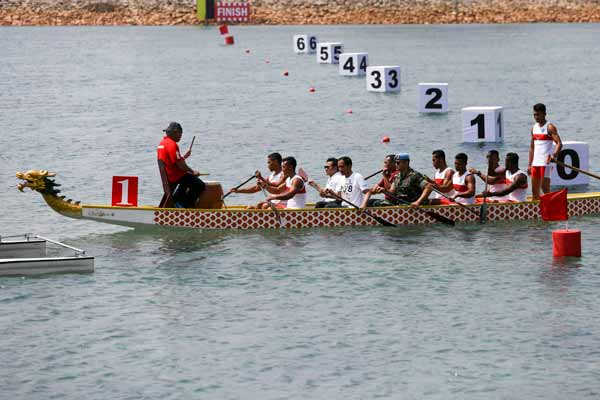 Arena dayung Jakabaring Rowing and Canoeing Regatta Course