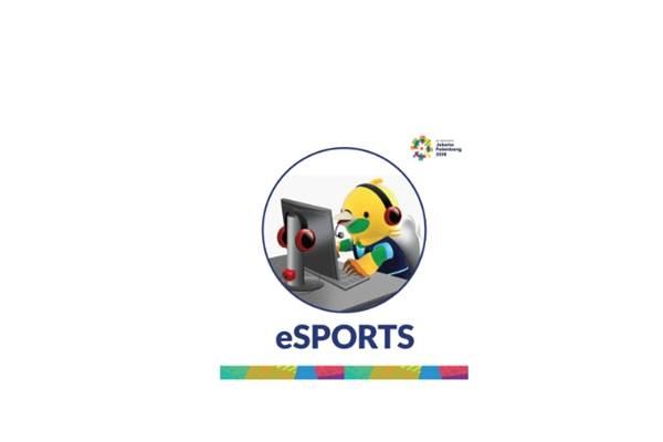Logo cabor eSports di Asian Games 2018