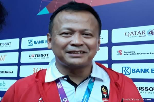 Manajer atlet Pencak Silat Indonesia, Edy Prabowo/Bisnis - Yusran Yunus