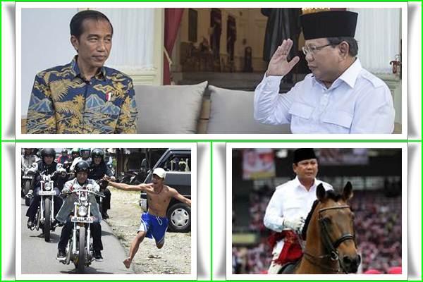 Joko Widodo atau Jokowi dan Prabowo Subianto - Bisnis