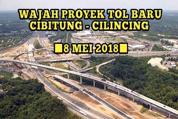 Proyek jalan tol Cibitung - Cilincing - Youtube