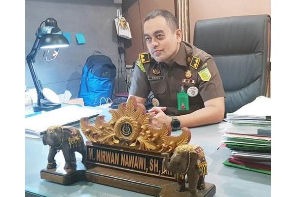 Kepala Seksi Penerangan Hukum Kejati DKI Jakarta Nirwan Nawawi - Bisnis/Sholahuddin Al Ayyubi