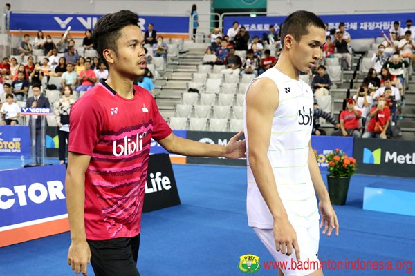 Anthony Ginting dan Jonatan Christie - Badminton Indonesia