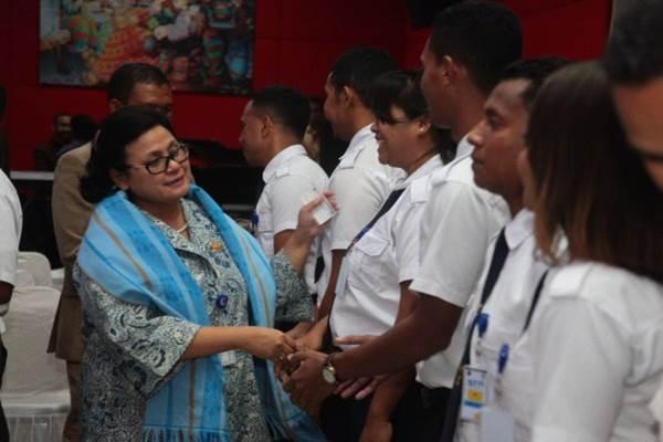 Kepala Badan Pengembangan Sumber Daya Manusia Perhubungan (BPSDMP)  Umiyatun Hayati Triastuti - Istimewa
