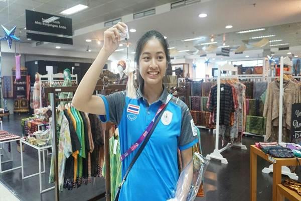 Atlet panahan asal Thailand Choumphu - Humas Kementerian Koperasi dan UKM