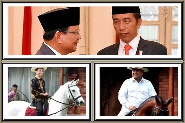 Dua kandidat calon presiden di Pilpres 2019: Joko Widodo (Jokowi) dan Prabowo Subianto - Bisnis