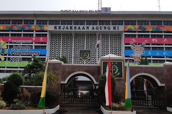 Gedung Kejaksaan Agung Republik Indonesia di Jakarta. -Bisnis.com - Samdysara Saragih