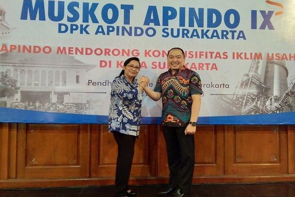 Iwan Kurniawan Lukminto terpilih secara aklamasi sebagai Ketua Asosiasi Pengusaha Indonesia (Apindo) Solo periode 2018-2023. - JIBI