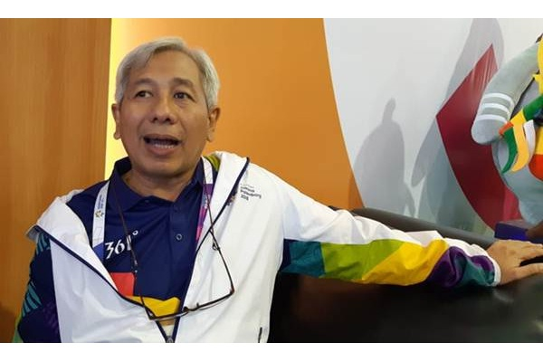 Direktur Media & PR Inasgoc Danny Buldansyah - Bisnis/Nur Faizah