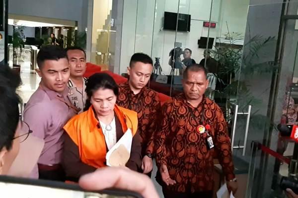 Merry Purba, Hakim Tipikor adhoc PN Medan yang terjaring KPK - Bisnis/Rahmad Fauzan