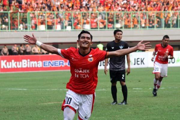 Penyerang Persija Jakarta Rudi Widodo - Antara/Risky Andrianto