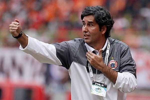 Pelatih Persija Jakarta Stefano Cugurra alias Teco - Liga Indonesia