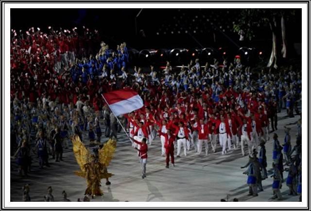 Kontingen Indonesia di Asian Games 2018 - Antara