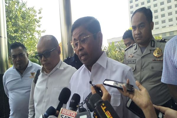 Idrus Marham dipanggil KPK sebagai saksi terkait tersangka kasus Operasi Tangkap Tangan (OTT) Anggota DPR Eni Saragih dalam kasus suap proyek PLTU Riau-I. - JIBI/Muhammad Ridwan