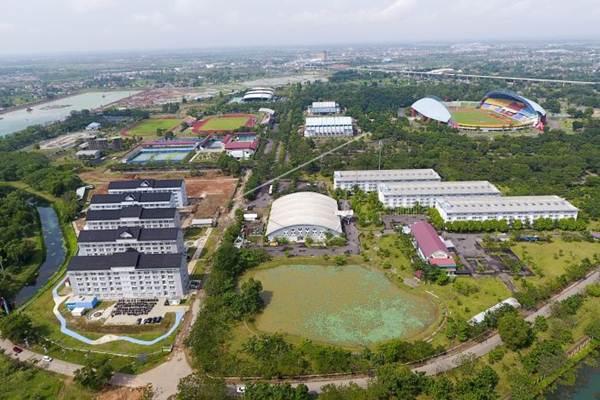 Wisma ATlet Jakabaring Palembang - Antara