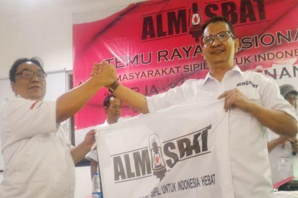 Hendrik Sirait jadi ketua umum organisasi relawan Jokowi Aliansi Masyarakat Sipil Untuk Indonesia Hebat (Almisbat)./JIBI/BISNIS - Sholahuddin Al Ayubi